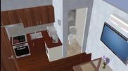Cube - възрожденска къща, модел qb-20 5х4м, 20 кв/м