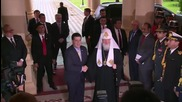 Paraguay: Patriarch Kirill greeted by President Cartes in Asuncion