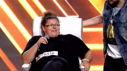 Александрина Макенджиева - X Factor кастинг (15.09.2015)