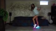 Мацка показва страхотни Freestyle танци