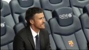 Луис Енрике официално бе представен за треньор на Барселона
