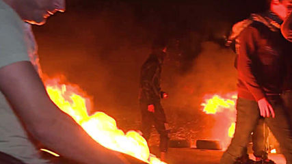 State of Palestine: Night-time protests ignite along Israel-Gaza border