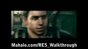 Resident Evil 5 Walkthrough - Uroboros Research Facility Pt 3