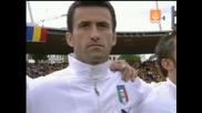 13.06 Италия - Румъния 1:1 Националните химни