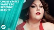 Chrissy Metz's sexy pin-up shoot for Harper's Bazaar