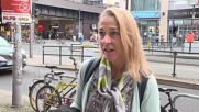 Germany: Voters react to federal elections' preliminary results