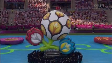 Uefa Euro 2012-откриване-(церемония по откриването)