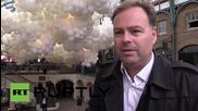 """Лондон: 100 000 балона изпълниха пазара в """"Ковънт гардън"""""""