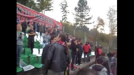 Яка агитка на Локо Мз след 4 - 0 над Пирин