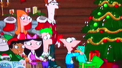 Финиъс и Фърб - We wish you a merry chrismas бг