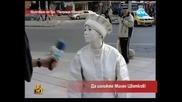 Лудия Репортер си изпросва боя