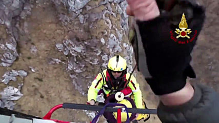 Italy: Woman and her dog rescued by helicopter from Mount Moregallo