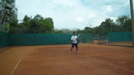 Тенис урок - форхенд (на български език).wmv