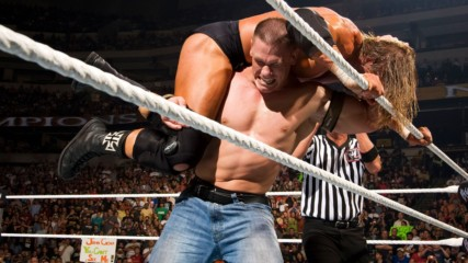 Triple H vs. John Cena – WWE Title Match: WWE Night of Champions 2008 (Full Match)