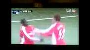 N.bendner 3gola za Arsenal - Porto 5 - 0