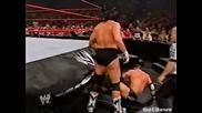 Bradshaw vs. Johnny Stamboli (wwe Hardcore Championship Match) - Wwe Heat 28.07.2002