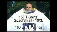 Пич Носи 155 Тениски За Световен Рекорд