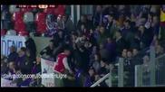 Гингам 1 - 2 Фиорентина ( лига европа ) ( 27/11/2014 )
