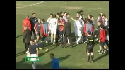 Истинския футбол и феърплея на малките отбори!