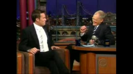 Matthew Perry On David Letterman