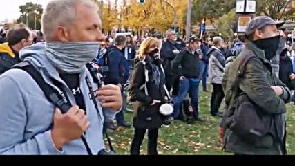 Д-р Хайко Шьонинг - реч на протест в Берлин на 25.10.2020