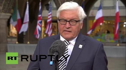 Germany: U.S. Senators should not hinder Iranian nuclear negotiations - FM Steinmeier