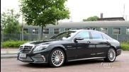 Когато Mercedes - Benz мачка конкуренцията: 2014 S65 Amg - Пълно ревю на този немски шедьовър!