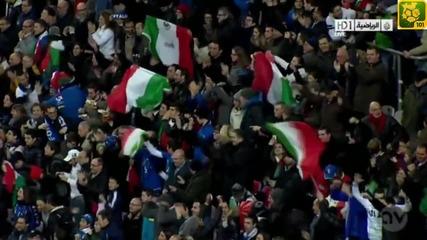 Balotelli застреля вратаря !!