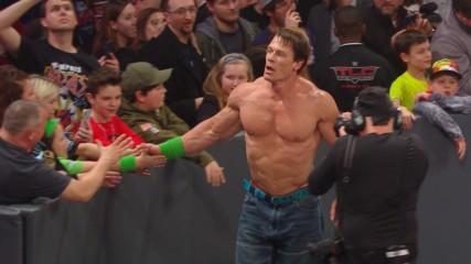 John Cena injured during last Monday night's Raw main event: WWE.com Exclusive, Jan. 21, 2019
