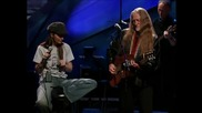 Shania Twain and Willie Nelson - Blue eyes crying in the rain Превод