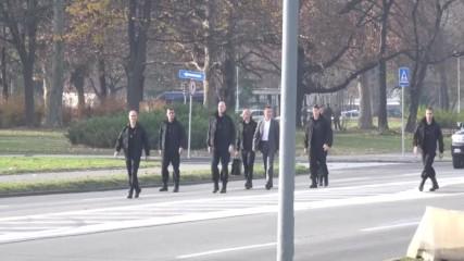 Демонстрация на сръбските Кобри