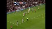 1 Гол На Бербатов Във Висшата Лига С Екипа На Манчестър Юнайтед