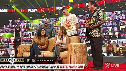 Seth Rollins reveals Murphy & Aalyah Mysterio's secret chats: Raw, Sept. 28, 2020