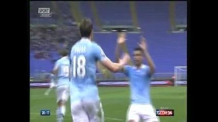 """""""Рома"""" падна с 0-2 от """"Палермо"""", """"Лацио"""" с късен обрат срещу """"Катания"""""""