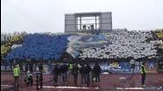 Сините срещу цднв 25.10.2014 (ultras Levski at the derby)