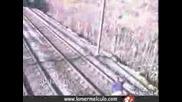 Откачалка Застава Пред Влак
