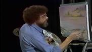 S01 Радостта на живописта с Bob Ross E09 - морски пейзаж ღобучение в рисуване, живописღ