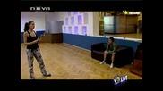 Vip Dance 21.09.09 - Скандал между Райна и Сашка !