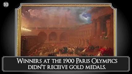10 Любопитни Факта за Олимпийските игри- 10 All Time's
