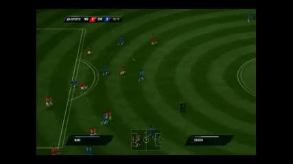 Man united vs Chelsea [fifa 11] Db9 Great goal