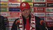Стойчо Младенов: Радвам се, че отново съм у дома, целта е титлата