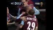 West Ham - Тотнъм 3:4 Бербатов В Действие