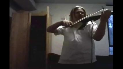 Korpiklaani Vodka (violin cover)