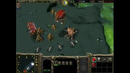 Warcraft(starcraft) - Zerg Vs Terran