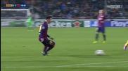 Меси пак гравира върху историята с хеттрик, Барса се разигра! 25.11.2014 Апоел - Барселона 0:4