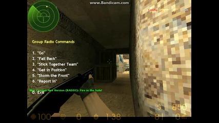 Counter Strike 1.6 2013 Professional ep1:ама писнами като си преглеждам да лагва Bandicam