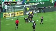 Шокиращи кадри от футболен мач