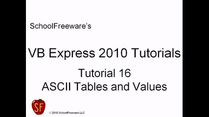 Microsoft Visual Basic 2010 Express { Видео 16 }