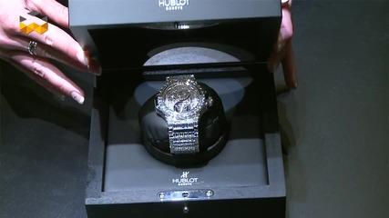 Инкрустиране на диаманти в часовници за милиони - Едно изкуство, отвъд въображението ви!