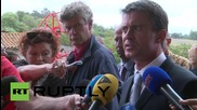 France: Responsibility for Calais migrant crisis cannot be shirked says French PM Valls